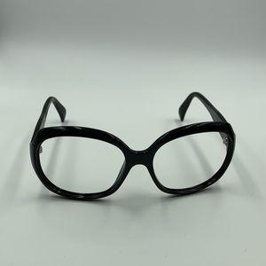 Giorgio Armani GA845/S Black Oval Sunglasses Frame